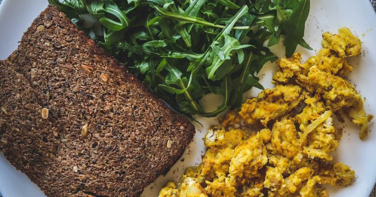 The best tofu scramble [vegan, plant-based, no-oil, gluten-free]